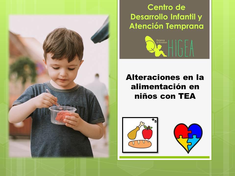 Autismo y aliemtnación